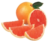 Grapefruits are low in calories and high in vitamin C