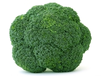 Broccoli is high in fiber and low in calories