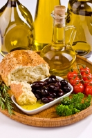Olive oil is an excellent source of healthy fats