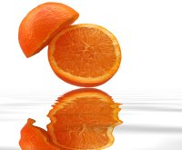 Oranges are low calories and high in vitamins