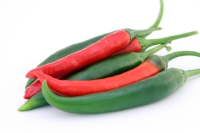 Hot chili peppers can help boost the metabolism