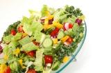 Mass of sliced healthy natural vegetables