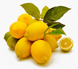Lemons can help with cleansing