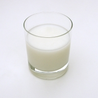 The calcium in milk helps speed up the metabolism