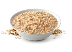 Oatmeal keeps the insulin level in the body quite low