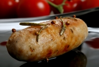 Sausages contain high levels of saturated fats
