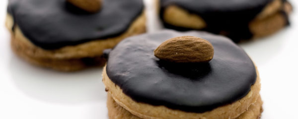 High sugar chocolate biscuits