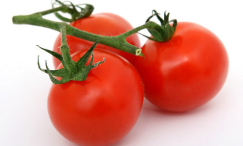Tomatoes are high in lycopene