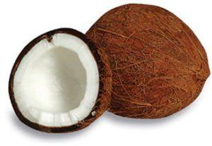 Coconuts contain healthy fats