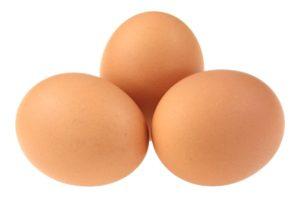 3 Large Eggs