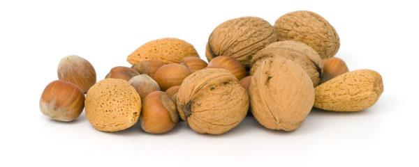 Several walnuts