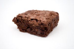 High protein chocolate brownie