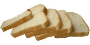 White bread can cause insulin to spike