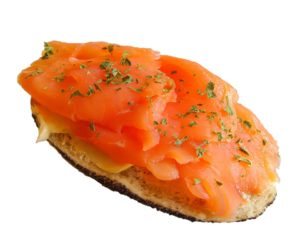 Salmon is an excellent source of quality protein