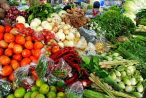 Fresh vegetables are the basis of the Paleo Diet