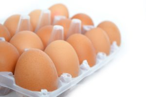 Organic free-range eggs can be used at breakfast time